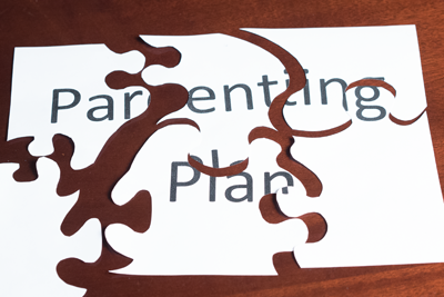 Puzzle symbolizing parenting plan modification in Everett